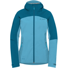 VAUDE Moab Rain Jacket Damen crystal blue